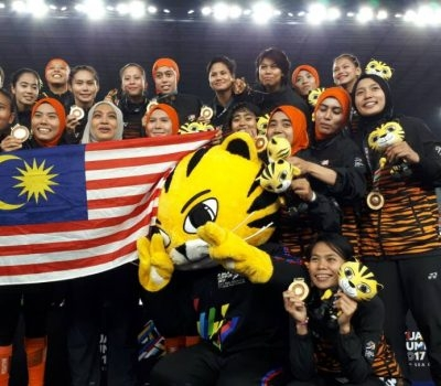 Malaysian Tigress Sumbang Pingat Emas ke-106