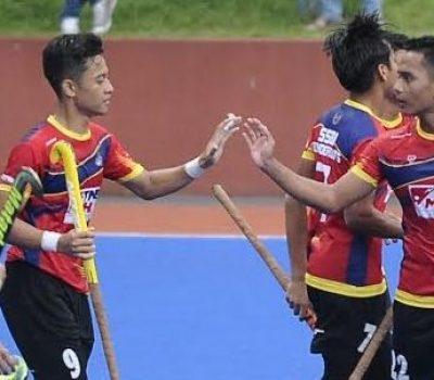 SSTMI, Pahang Thunderbolt and Johor Juniors celebrate
