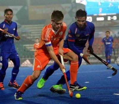 Juniors go down against Dutch
