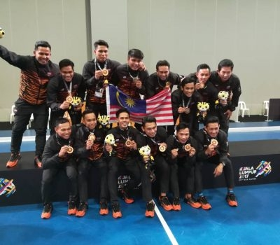 Amin Rahim guides Malaysian Tigers to Indoor Gold