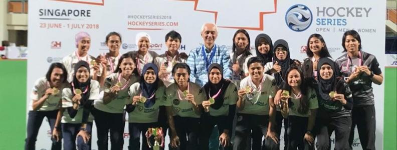Siri Terbuka Singapura: Juara Milik Malaysian Tigress