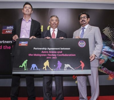 MHC & ASTRO ARENA FORM PARTNERSHIP TO SPUR DEVELOPMENT IN MALAYSIAN HOCKEY