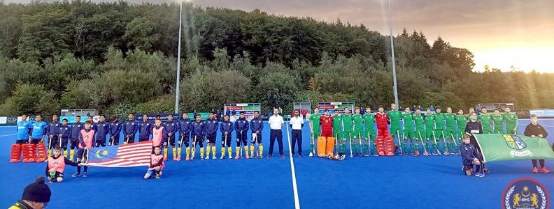 Perlawanan Ujian: Malaysia 2-3 Ireland