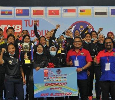TNB Piala Tun Abdul Razak (Wanita) 2020 : PAHANG JUARA EDISI KE-5