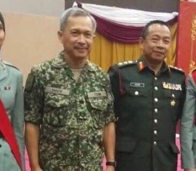 Siti Rahmah, Julaini terima Penganugerahan Pangkat Sarjan