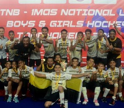 TNB-1MAS Kejohanan Hoki B-14: Perak Dinobat Selaku Juara