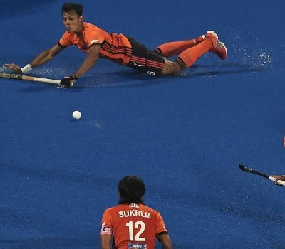 A Fighting Malaysia Go Down 3-5 To Germany