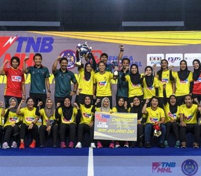 FINAL PIALA VIVIAN MAY SOARS 2021 : PKS Uniten-KPT Pertahan Kejuaraan; Tundukkan UniKL Ladies 1-0