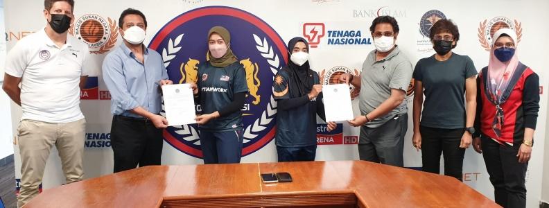 Dua Pemain Wanita Kebangsaan Bakal Beraksi Di Liga Antarabangsa