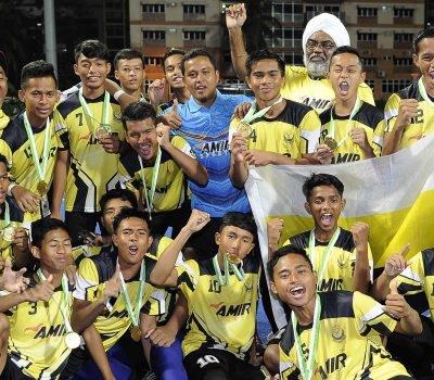 Perak champs again; Joyous day for KL