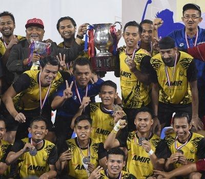 TNB Piala Tun Abdul Razak 2018: Perak Pertahan Kejuaraan Divisyen Satu