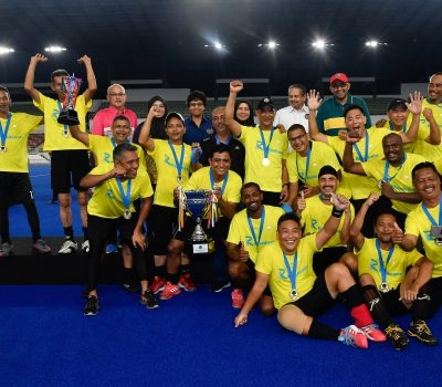 Pahang Ungguli Kejohanan Veteran Kebangsaan 2019